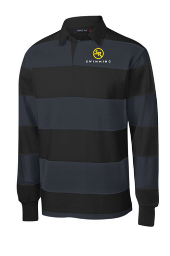 Long Sleeve Rugby Polo- Southern Regional Swimming