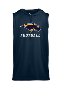 SLEEVELESS HOODED TEE- Adult - PJP Footbal