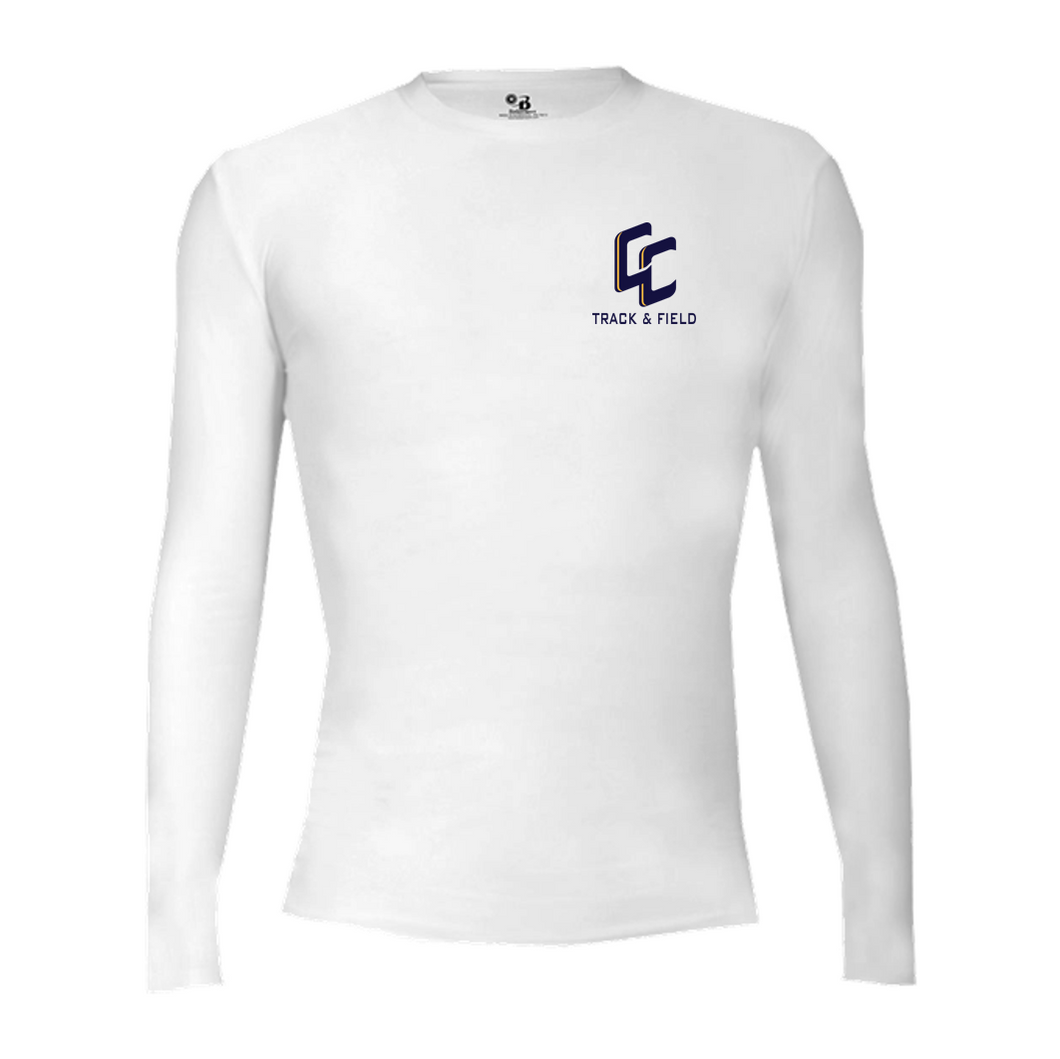 PRO-COMPRESSION L/S CREW - Central Catholic Track & Field
