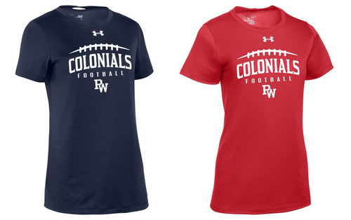 Ladies UA Locker Tee - PW Football