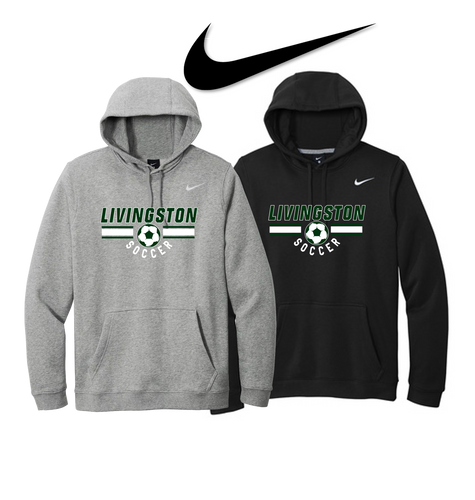 Nike Club Fleece Pullover Hoodie - LIVINGSTON SOCCER