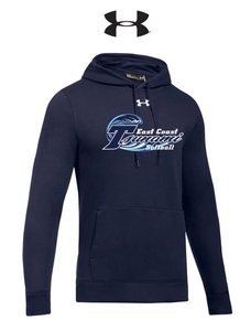 UA Hustle Fleece Hoodie - Adult - Tsunami Softball