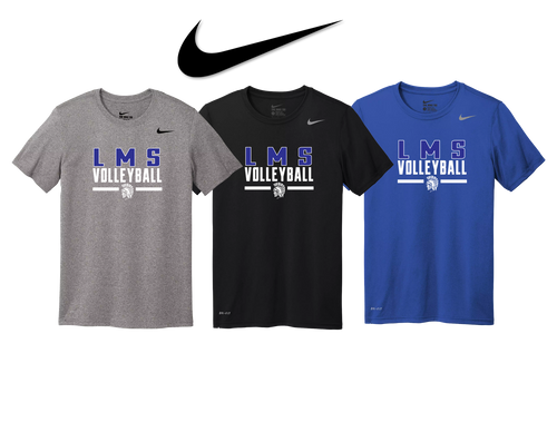 Nike Legend Tee - Lewis Mills Volleyball