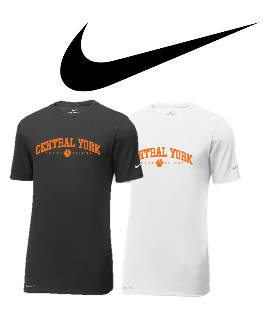 Adult Nike Dri-FIT TEE - Central York XC