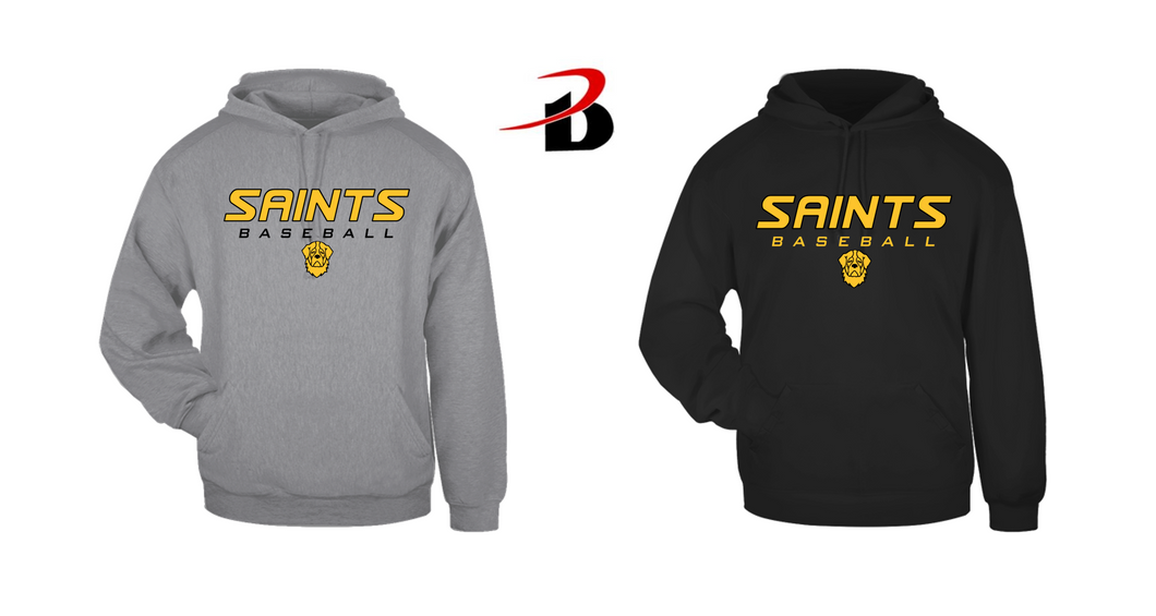 BADGER HOODED SWEATSHIRT - Santa Fe South Baseball