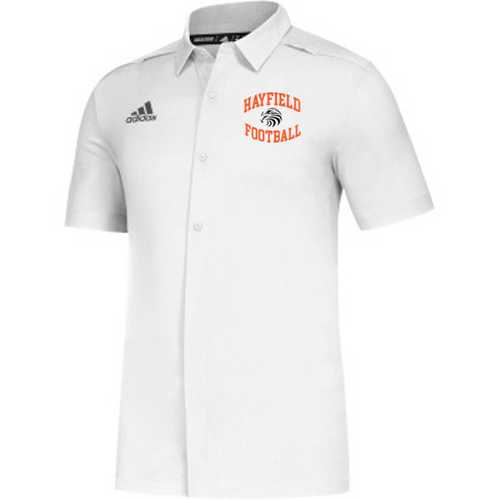 ADIDAS GAME MODE BUTTON DOWN - Adult - Hayfield Football Coaches