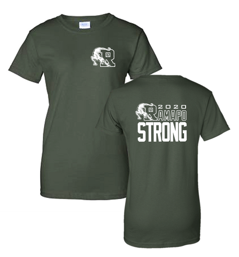 Ladies Tee - RAMAPO STRONG