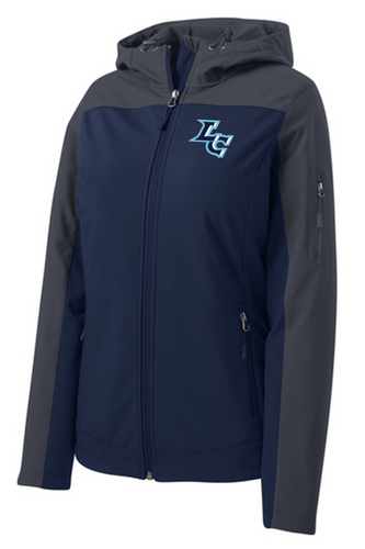 *Ladies Hooded Core Soft Shell Jacket - LITTLE CHUTE GOLF