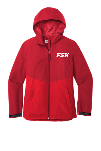 *Ladies Tech Rain Jacket - FSK 2022