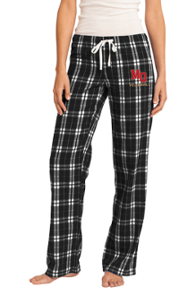 Ladies Flannel Plaid Pant - Mt. Olive Volleyball
