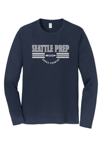 Fan Long Sleeve Tee - Adult - SEATTLE PREP XC