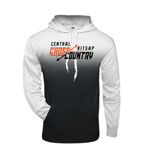 OMBRE HOODIE - CENTRAL KITSAP XC