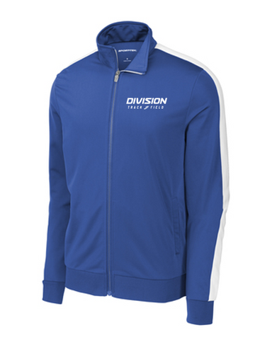 Tricot Track Jacket - Adult - DIVISION TRACK