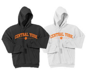 Hooded Sweatshirt - Adult - Central York XC