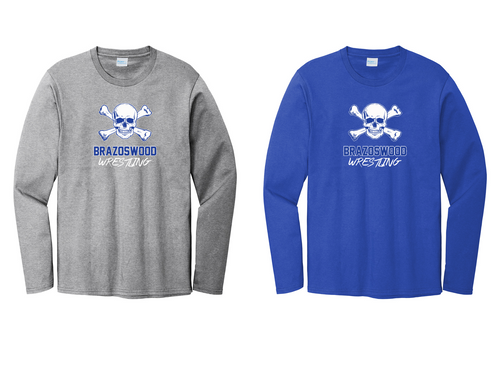 Fan Long Sleeve - Brazoswood Wrestling