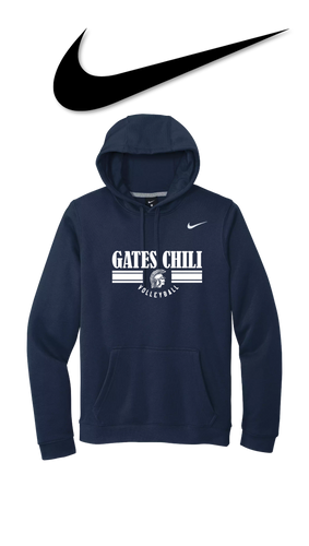 Nike Club Fleece Pullover Hoodie - GATES CHILI VOLLEYBALL