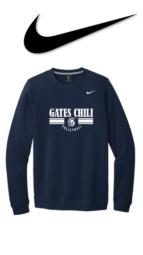 Nike Club Fleece Crew - GATES CHILI VOLLEYBALL
