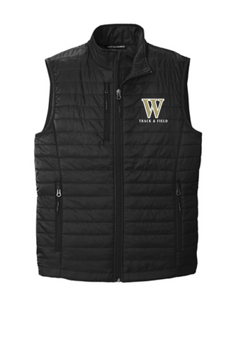 *ADULT Puffy Vest - WARREN TRACK & FIELD