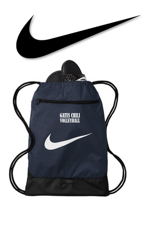 Nike Brasilia Gym Sack - GATES CHILI VOLLEYBALL