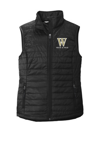 *LADIES Puffy Vest - WARREN TRACK & FIELD