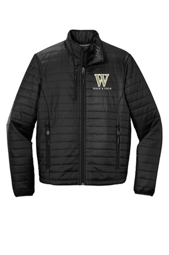 *ADULT Puffy Jacket - WARREN TRACK & FIELD