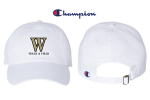 *Champion - Washed-Twill Cap - WARREN TRACK & FIELD