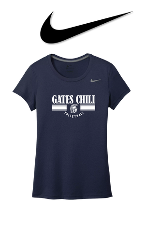 Ladies Nike Legend Tee - GATES CHILI VOLLEYBALL
