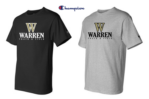 Champion - Short Sleeve T-Shirt - WARREN TRACK & FIELD