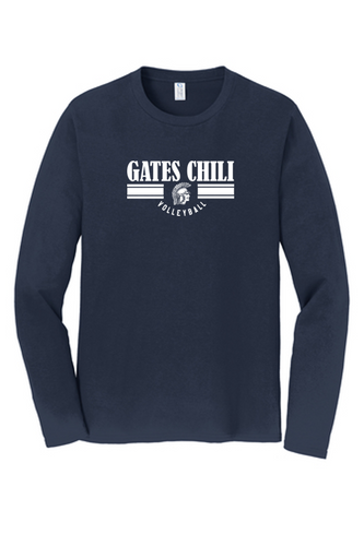 Fan Long Sleeve Tee - Adult - GATES CHILI VOLLEYBALL