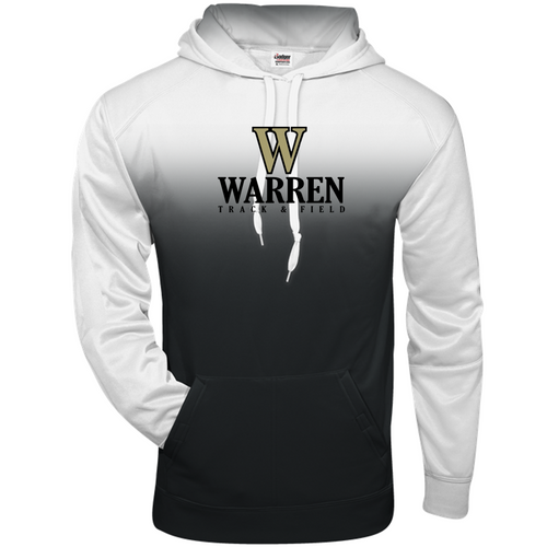 ADULT OMBRE HOOD- WARREN TRACK & FIELD