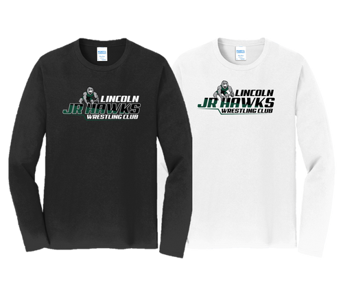 Fan Favorite Long Sleeve (Adult/Youth Sizes) - Lincoln JR Wrestling
