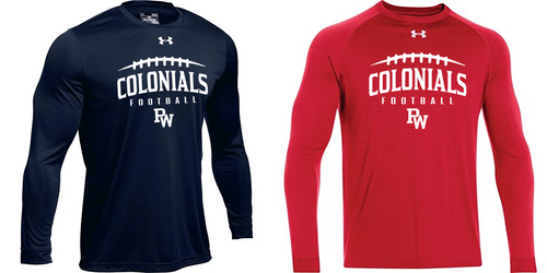 UA Locker Long Sleeve - Adult - PW Football