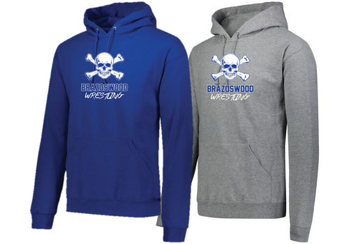 Hooded Sweatshirt - Brazoswood Wrestling