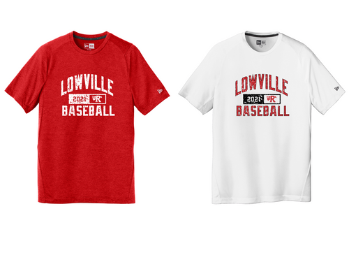 New Era Series Performance Crew Tee - LOWVILLE BASEBALL