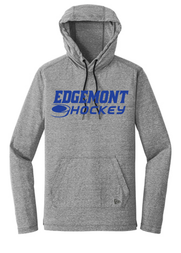 Tri Blend Hooded Long Sleeve - Adult - Edgemont Hockey