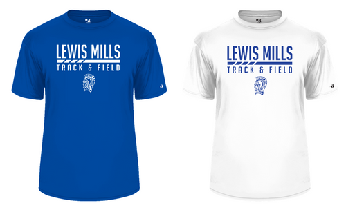 Performance Tee - Adult - Lewis Mills Track