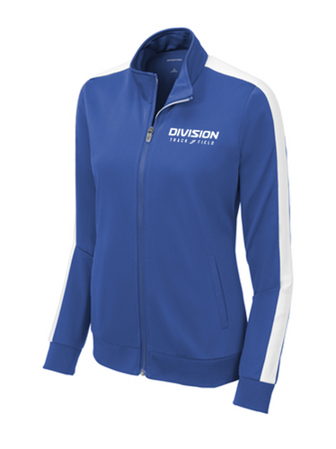 Ladies Tricot Track Jacket - DIVISION TRACK