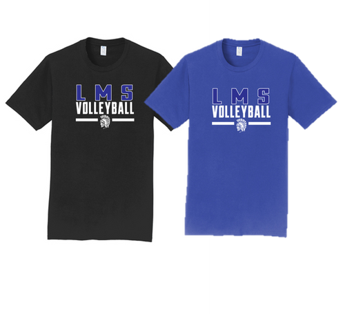 Fan Tee - Lewis Mills Volleyball