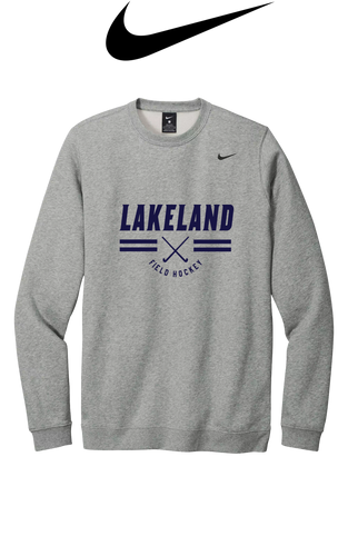 Nike Club Fleece Crew - LAKELAND FIELD HOCKEY