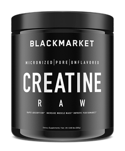 Creatine Monohydrate by Black Market Labs