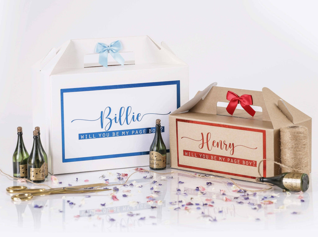 'Will You Be My Page Boy' Gift Box