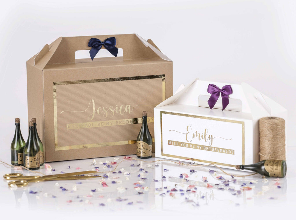 'Will You Be My Bridesmaid' Gift Box
