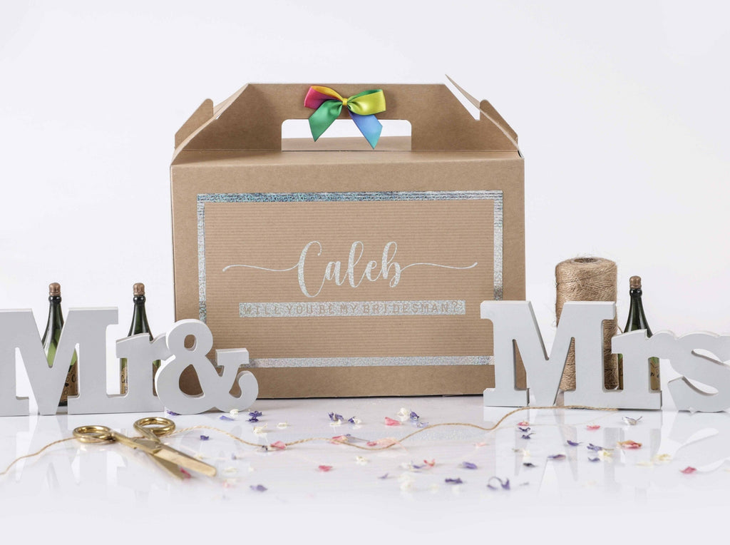 'Will You Be My Bridesman' Gift Box