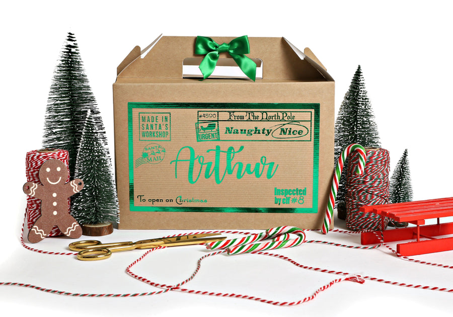Personalised Christmas Gift Box