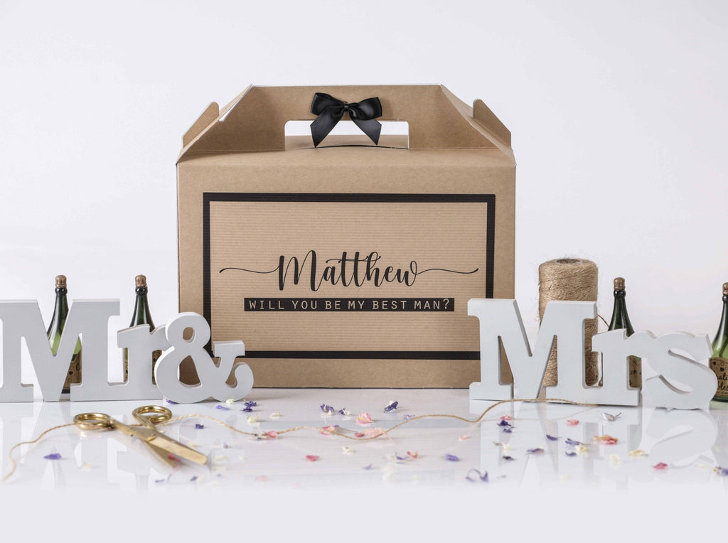 'Will You Be My Best Man' Gift Box
