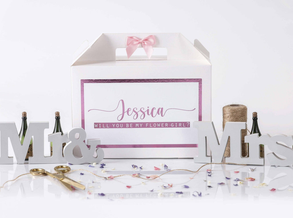 'Will You Be My Flower Girl' Gift Box