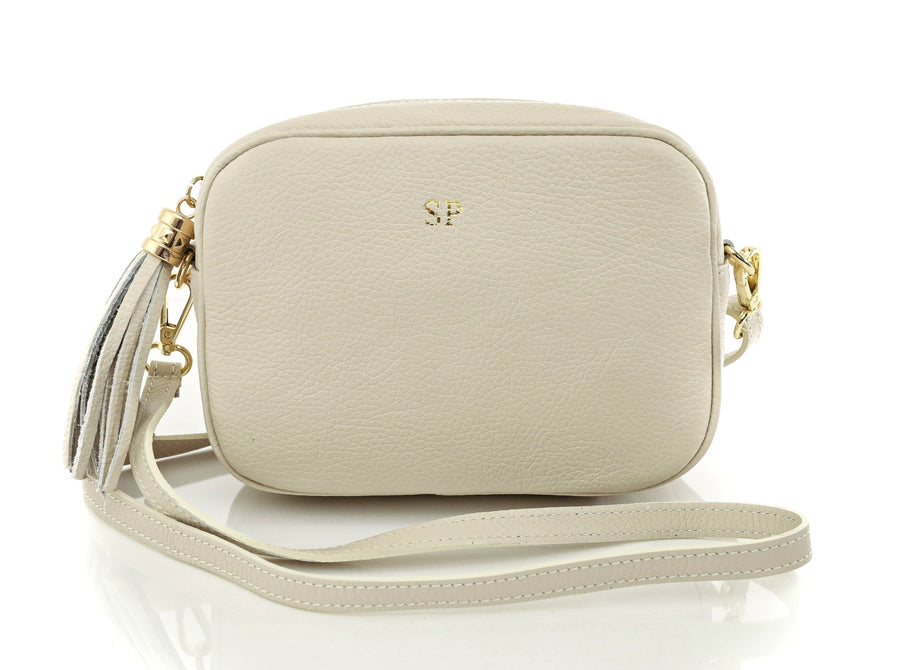 Siena Cross Body Bag in Nude