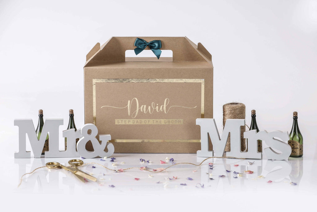 Step Father Of The Groom Gift Box