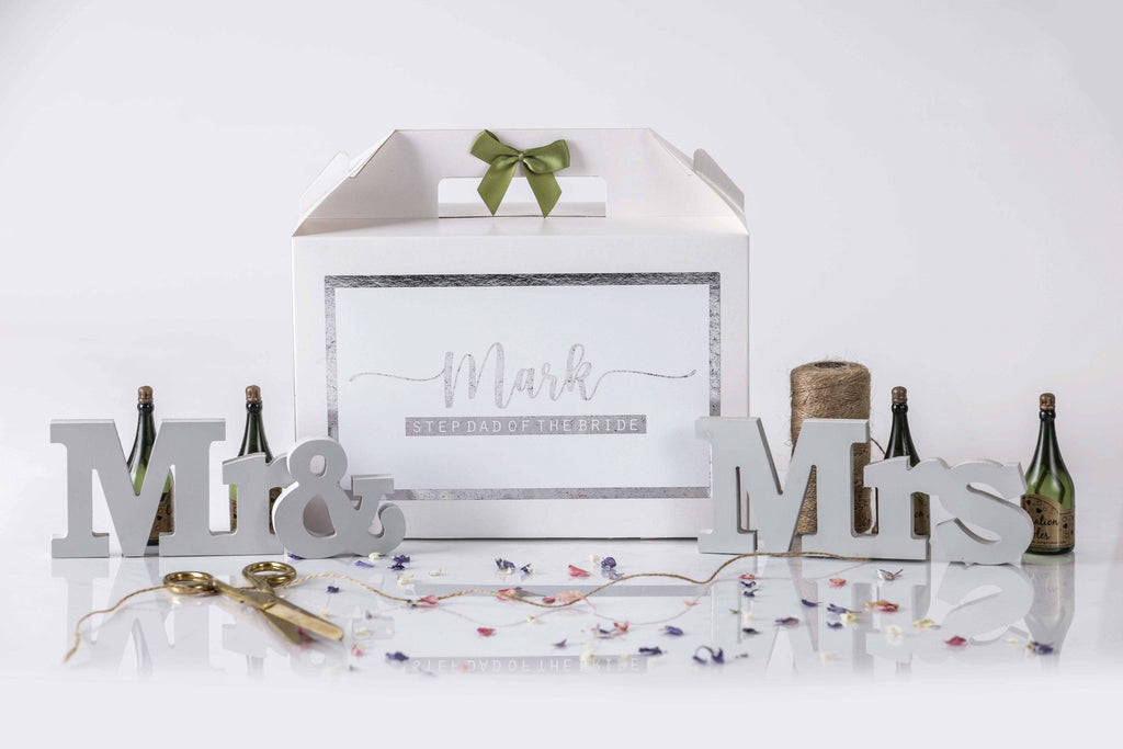 Step Father Of The Bride Gift Box