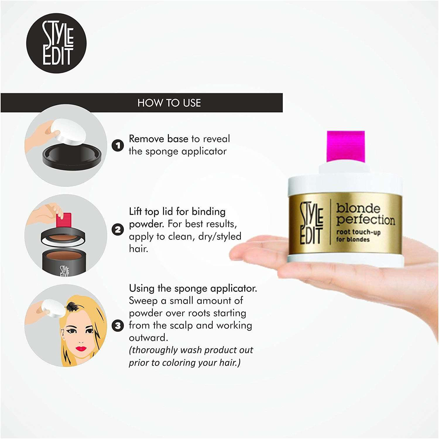 Style Edit Blond Perfection Root Touch-Up Powder data-zoom=